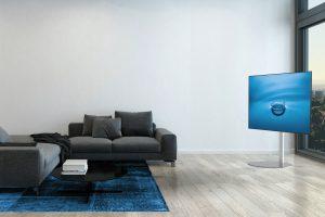 TV standaard in woonkamer