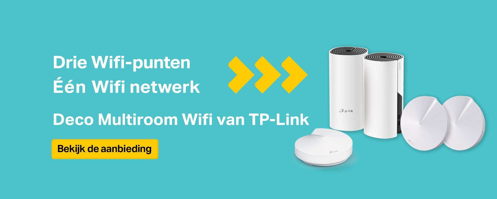 TP Link Deco Wifi door het hele huis