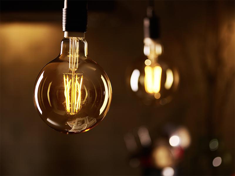 Dimbare ledlampen filament